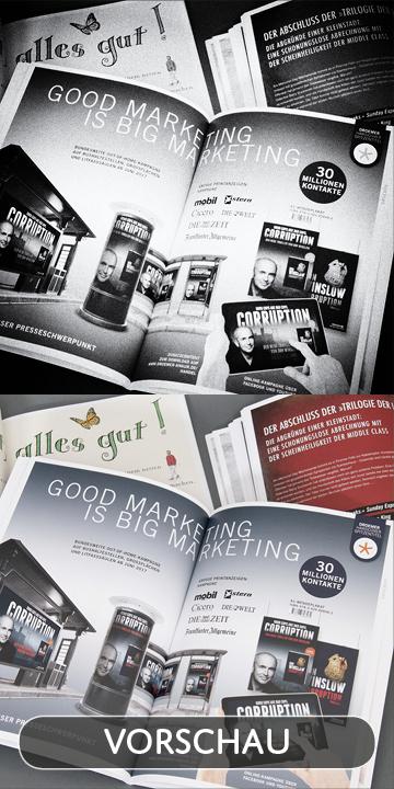 ZERO Werbeagentur - Projekt